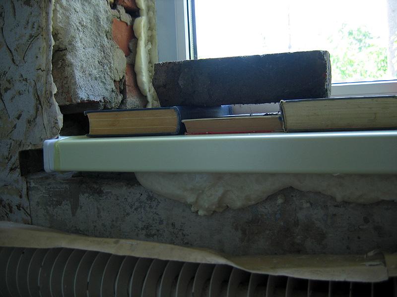 Подоконник на балконе - варианты дизайна и установка.
